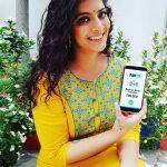 Varalaxmi Sarathkumar, smile, yellow dress, paytm