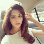Vedhika car selfie  (14)