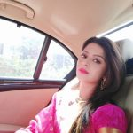 Vedhika car selfie  (16)