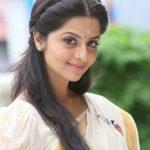 Vedhika in kerala saree smiling pictur (2)