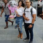 Vedhika receiving cute thanks from organisers holidaying abroad (17)