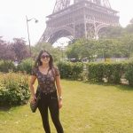 actress kaniha   at paris eiffel tower (34)