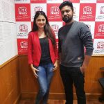 actress kaniha   at red fm with rj (21)