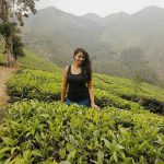 actress kaniha  black sleeveless tea estate  (10)