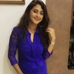 actress kaniha  blue dress  (27)