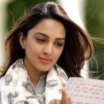 actress kiara advani reading hindi letter grey dress white shawl beautiful pose (40)