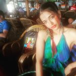 anaika soti photo curlies goa blue green dress(24)