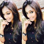 anukreethy vas Miss TamilNadu India 2018 black shirt free hair pose (9)