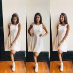 anukreethy vas Miss TamilNadu India 2018 during miss india contest white dress  (29)