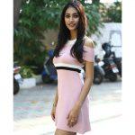 anukreethy vas Miss TamilNadu India 2018  fx tv 16 news photoshoot like ladies wear rose dress(34)
