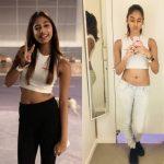 anukreethy vas Miss TamilNadu India 2018 mirror selfie old pictures navel  (14)