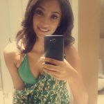 anukreethy vas Miss TamilNadu India 2018 resort wear green nidhi minum dress  (30)
