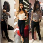 anukreethy vas Miss TamilNadu India 2018 selfie collage dressing room (15)