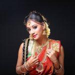 anukreethy vas Miss TamilNadu India 2018 traditional bridal make up  (4)