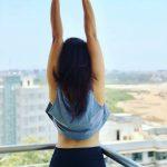 bhumi pednekar  balcony pic from hotel (10)