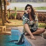 bhumi pednekar sitting by swimming pool (5)