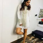 bhumi pednekar  white revealing dress (11)