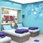 bigg boss tamil 2, house, Blue Bed, Bed sheet