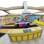 bigg boss tamil 2, house, Kitchen, Dinning Table
