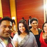 rachitha dinesh mahalakshmi Saravanan Meenakshi actress, instagram and travel photos  (1) with robo shankar and actress  meena