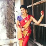 rachitha dinesh mahalakshmi Saravanan Meenakshi actress, instagram and travel photos  (12) dressed as queen royal attire saree and jewels for4
