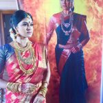 rachitha dinesh mahalakshmi Saravanan Meenakshi actress, instagram and travel photos  (12) dressed as queen royal attire saree and jewels for5