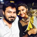 rachitha dinesh mahalakshmi Saravanan Meenakshi actress, instagram and travel photos  (18)vijay tele awards with husband