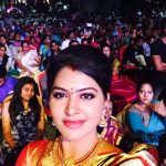 rachitha dinesh mahalakshmi Saravanan Meenakshi actress, instagram and travel photos  (23)in vijay tele awards selfie
