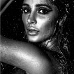Alankrita Sahai in black and white hot still smiling and free hair  (1)