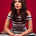 Alankrita Sahai in modern dress revealing photoshoot  black and white dress (3)