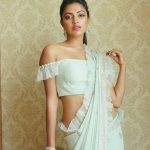Amala Paul, grand dress