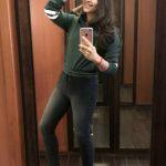 Anjali, mirror selfie