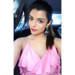 Ashna Zaveri, car, selfie, pink