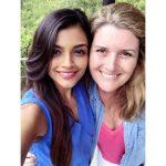Ashna Zaveri, selfie, white girl