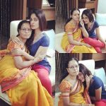 Bindu Madhavi, mom, mother, amma, love