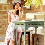 Bindu Madhavi, photo shoot, smile, table