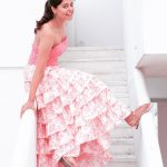 Bindu Madhavi, pink dress, terres, cute