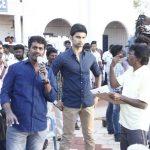 Boomerang Tamil Movie, Atharvaa, shooting