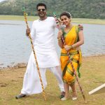 Charlie Chaplin 2, prabhu deva, nikki galrani, wallpaper, white dress, yellow