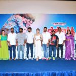 Ghajinikanth press meet, Arya,  Sayyeshaa Saigal, stage