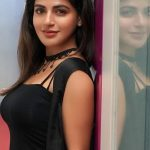 Iswarya Menon, black fit, event