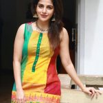 Iswarya Menon, modern dress, cute face