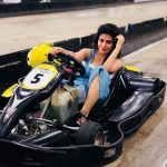 Iswarya Menon, racing car, just look