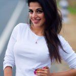 Iswarya Menon, white t shirt, 2018