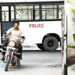 Kadaikutty Singam, karthi, bullet, bike, police