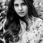 Kalyani Priyadarshan, black and white,winsome