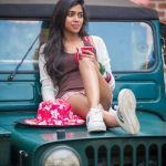 Lovelyn Chandrasekhar, car, new look
