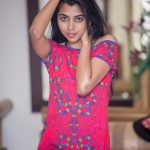 Lovelyn Chandrasekhar, pink dress