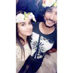 Meenakshi, gautham karthi, selfie