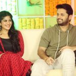 Megha Akash, Nithiin, cover picture, lie movie